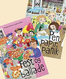 Pen papir, panik/Fest og ballade