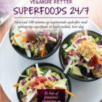 Veganske retter. Superfoods 24/7