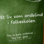 Et liv som ordblind i folkeskolen