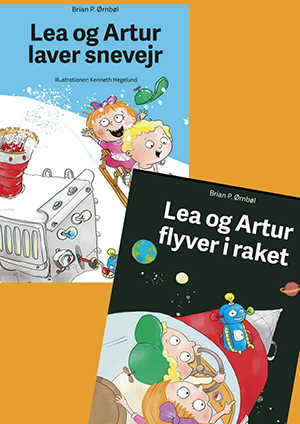 Lea og Artur laver snevejr