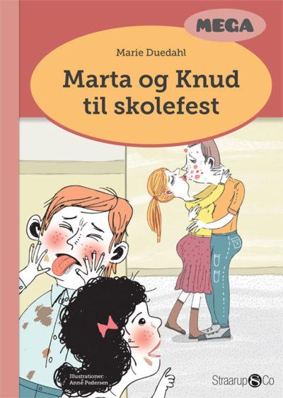 Marta og Knud til skolefest
