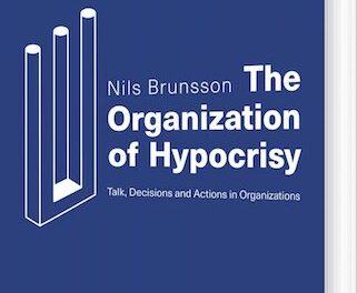 The Organization of Hypocrisy